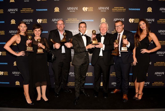 Jumeirah leads winners at the World Travel Awards Middle East Gala Ceremony