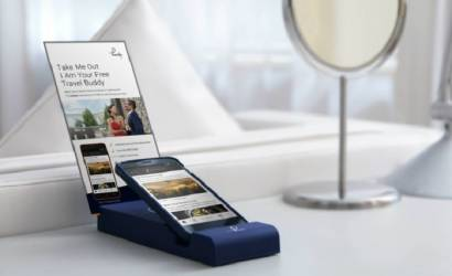 Waldorf Hilton introduces Handy Phone for guests