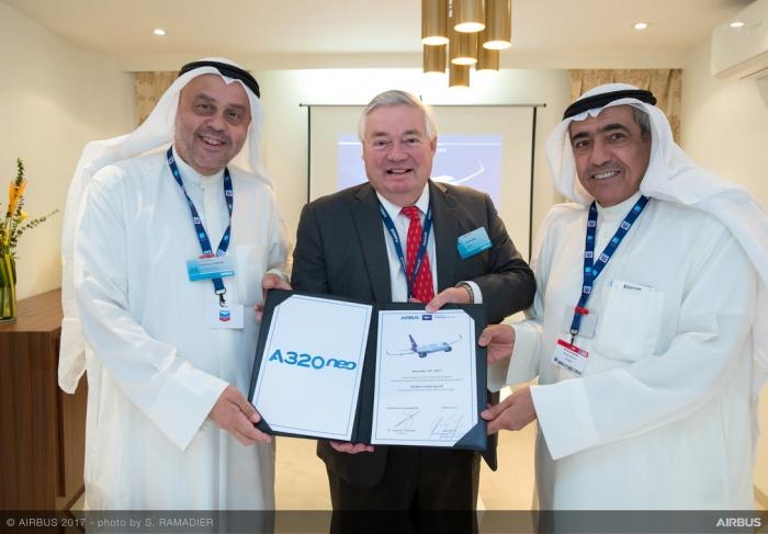 News: Dubai Airshow 2017: Wataniya places 25 A320neo order with Airbus