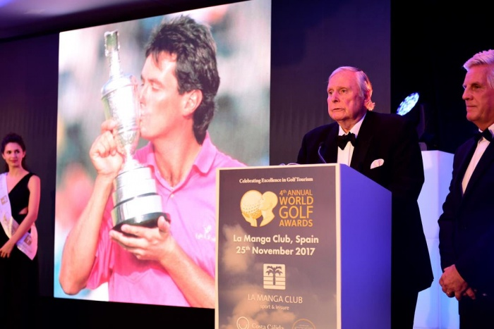 Jack Nicklaus leads winners at 2017 World Golf Awards