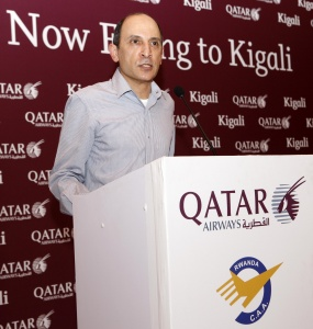 Qatar Airways launches services to Rwanda