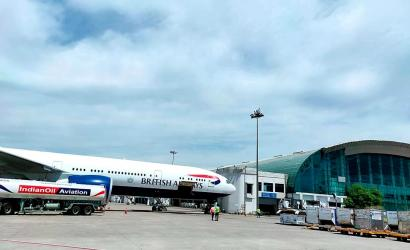 British Airways brings travellers home from India