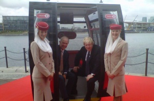 Emirates sponsors London cable car
