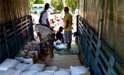 Funds raised helped 870 families from Cambodia's Flood victims