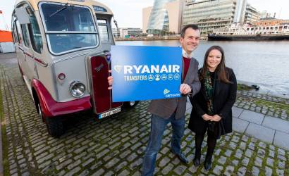 CarTrawler-powered Ryanair Transfers launches across Europe