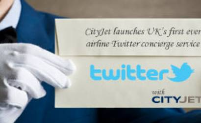 CityJet's Twitter concierge is 'a first for UK airlines'