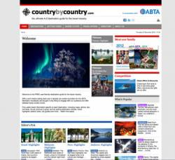 Countrybycountry.com - new website launch