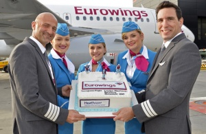 Eurowings launches new London-Salzburg connection ahead of ski season