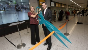 easyJet opens new check in at Gatwick