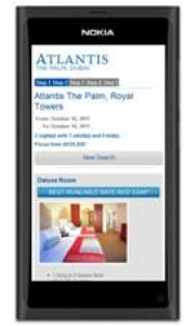 Atlantis, The Palm launches new mobile website