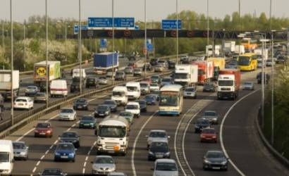 M25 closure following lorry crash