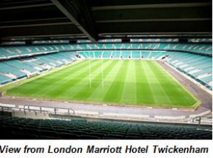 Marriott scores strategic partnership with Rugby Football Union