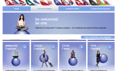oneworld enhances online training resources for travel agents
