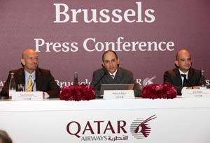 Qatar Airways CEO Lauds airline's European Growth