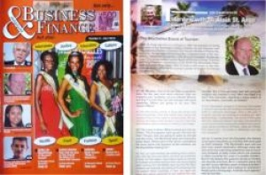 Business and Finance Magazine covers Seychelles tourism