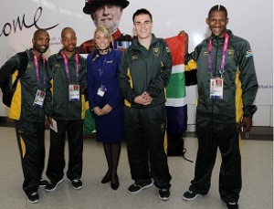 SAA welcomes the South African Paralympics team to London 2012