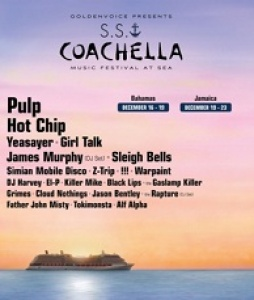 Goldenvoice presents S.S. COACHELLA: Two separate voyages-same line up