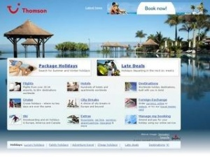 Thomson tops travel e-retailer brands