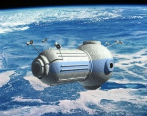 Floating in a most peculiar way: Russian firm outlines space hotel plans