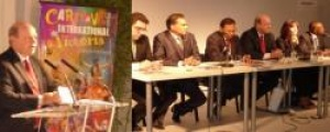 Vanilla Islands heads of tourism address press conference in Paris