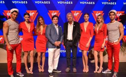 Branson reveals Virgin Voyages cruise line