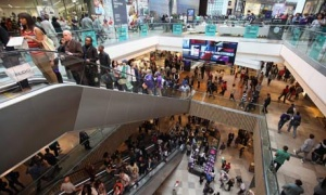 Westfield shopping centre enjoys Olympic boom