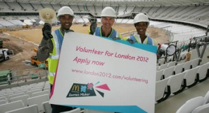 Call for London 2012 Olympic volunteers