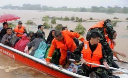 Scores feared dead in China flooding