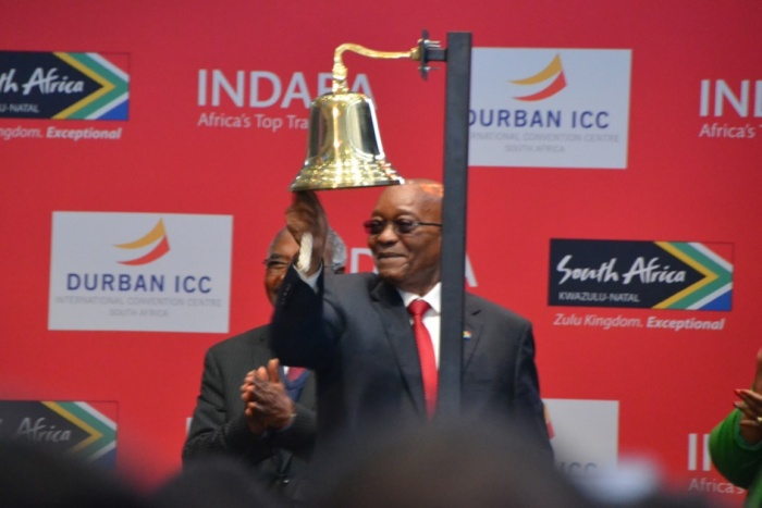 Top five things out of Zuma's speech from #Indaba2017