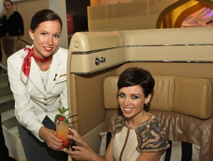Dannii Minogue wows Etihad guests at WTM