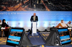 UNWTO greets international tourism ministers at ATM
