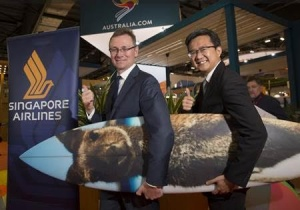 World Travel Market 2016: Tourism Australia partners with Singapore Airlines