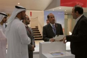 UAE ambassador in London visits ATDD stand at WTM London