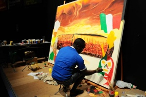 Adidas auctions FIFA World Cup artworks
