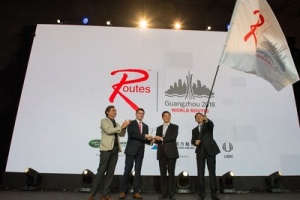 World Routes handed over to Guangzhou, China, for 2018