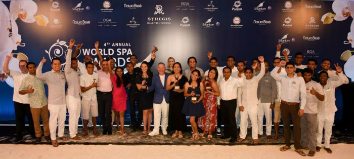 Αποτέλεσμα εικόνας για 2018 World Spa Awards winners revealed in the Maldives