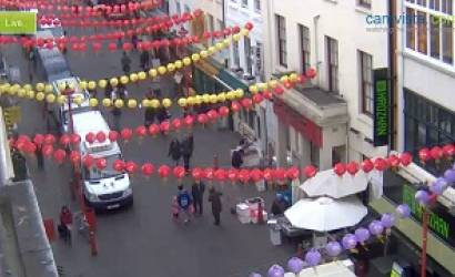 London 2012 Chinese New Year celebrations events live webcams