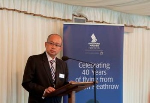 Singapore Airlines hosts 25th annual parliamentary reception