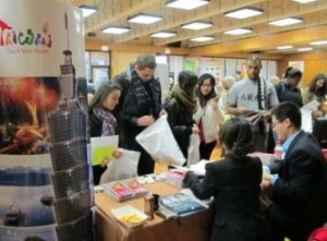 Exhibitors & students thrilled with success of first student travel expo