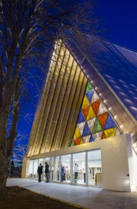 Cardboard Cathedral unveiled in Christchurch