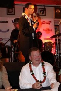 William Shatner Beams Into Maui for Concert Series at The Hard Rock