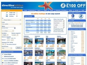 Directline Holidays reports summer 2012 early-booking trend