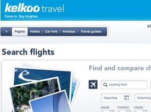 Kelkoo Travel launches flight website