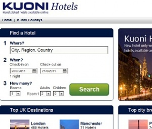 Kuoni Group are launching kuonihotels.com
