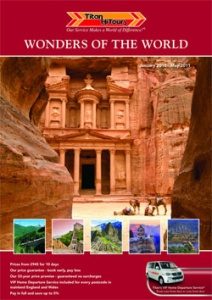 Titan HiTours Launches Its First Ever Wonders Of The World Brochure For 2010