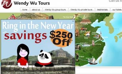 Wendy Wu Tours USA announced record growth for China