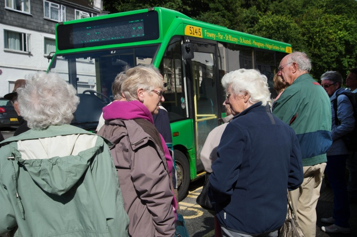 UK PM pledges £3 billion for England's bus network