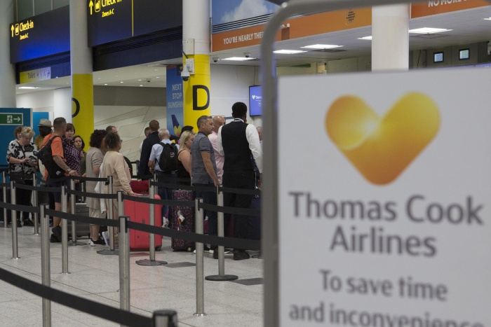 CAA begins huge repatriation effort to bring Thomas Cook customers back to UK