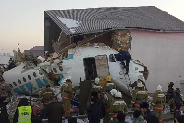 Bek Air crash kills 12 in Kazakhstan