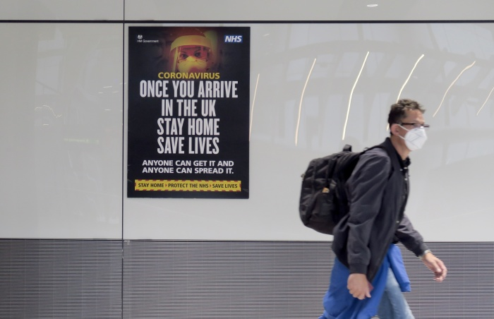 Britain to introduce 14-day quarantine from June